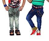 AJ Dezines Kids Jeans for Boys Pack of 2