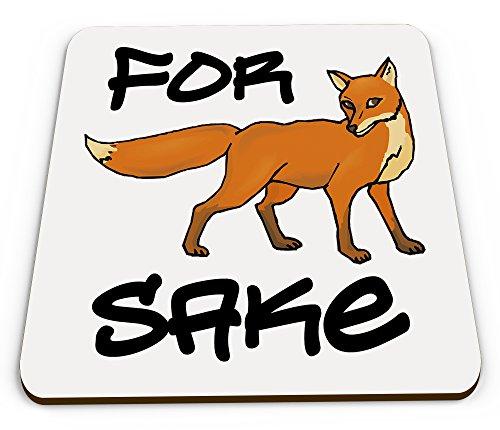 for-fox-sake-funny-glossy-mug-coaster