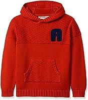 RED WAGON Jungen Kapuzenpullover Red Hoody, Rot (Red), 116 (Herstellergröße: 6 Jahre)