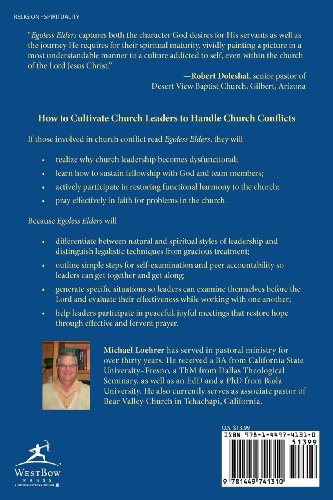 Egoless Elders: How to Cultivate Church Leaders to Handle Church Conflicts