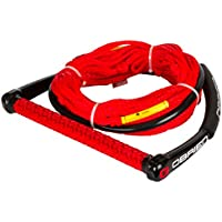 Obrien 4-Section poly-e Wake Combo cuerda, Rojo