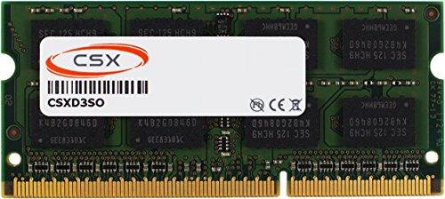 CSX AP_SO1066D3_4GB 4GB DDR3-1066MHz PC3-8500 2Rx8 256Mx8 16Chip 204pin CL7 1.5V SODIMM for Apple iMac Mac mini MacBook Pro (2008 2009 2010) Arbeitsspeicher (2008 Mac Pro Ram)
