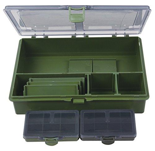 Angelzubehör-Box 27x19x6 cm inkl. 2 mini Boxen