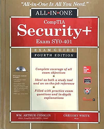 CompTIA Security+ All-in-One Exam Guide, Fourth Edition (Exam SY0-401) (Exam Syo-401)