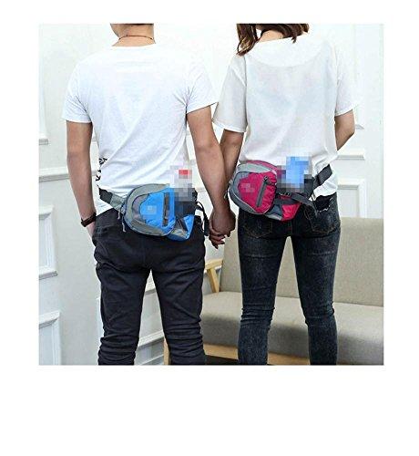 Sport Outdoor Wasser Flasche Taschen Reisen Reise Fitness Running Bag Männer Und Frauen Portable Portable Supplies Blue