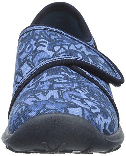 Rohde Boogy, Jungen Pantoffeln Blau (55 Jeans)