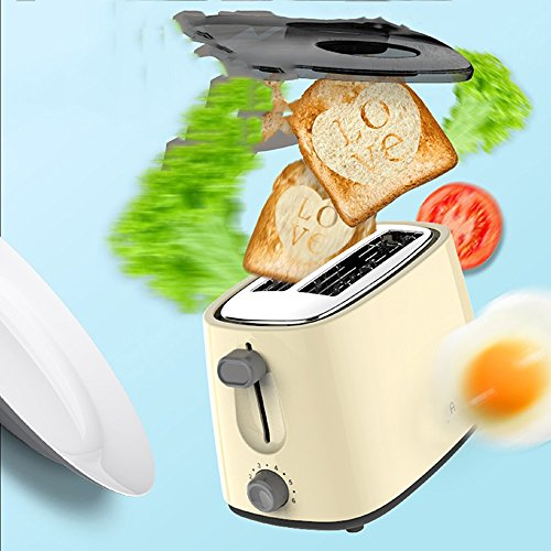 Bread machine LVZAIXI Low wattage 2-piece toaster camp caravan | black.