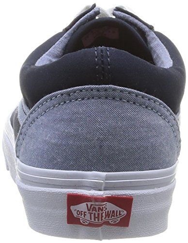 Vans U Old Dress Skool, Unisex Erwachsene Sneaker Blau Bleu Dress Old Blaus ... 4ede57