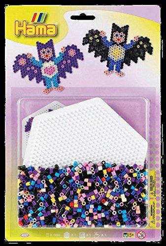 Hama Blister con Hexagonal-Tablero (tamaño Grande), Multicolor