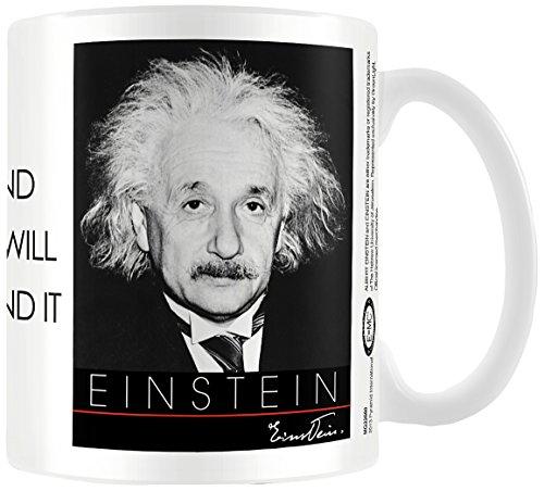 Albert Einstein Nature 11oz/315ml Kaffeetassen, Mehrfarbig