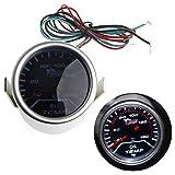 Medidor de temperatura de aceite haia7k4k, medidor de temperatura universal, 2 pulgadas, lente de humo LED para coche, medidor de temperatura de aceite