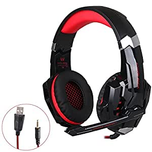 casque pour ps4 kotion each g9000 3 5mm jack casque gaming filaire casque de jeu avec micro. Black Bedroom Furniture Sets. Home Design Ideas