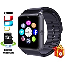 SmartLife sweatproof Smart Watch Phone YG8 Bluetooth con scheda SD da 16 GB e slot per scheda SIM per Android Samsung S5 S6 NOTE 4 5, HTC, Sony, LG e iPhone 5 5S 6 6 Plus Smartphone
