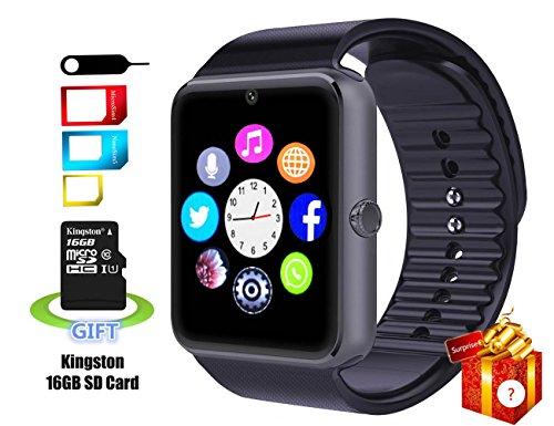 SmartLife sweatproof Smart Watch Phone YG8Bluetooth con scheda SD da 16GB e slot per scheda SIM per Android Samsung S5S6NOTE 45, HTC, Sony, LG e iPhone 55S 66Plus Smartphone