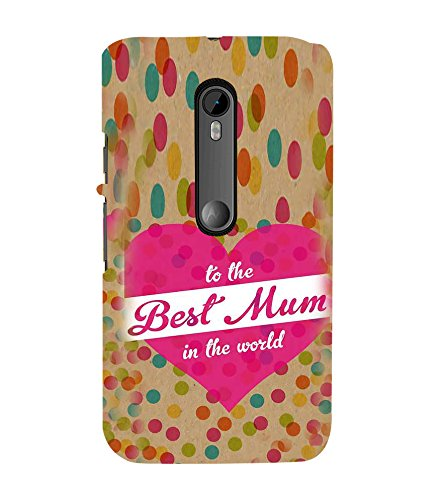 Fiobs Designer Back Case Cover for Motorola Moto G Turbo Edition :: Virat FanBox Moto G Turbo Virat Kohli (Mum Mom Mother Maa Love)