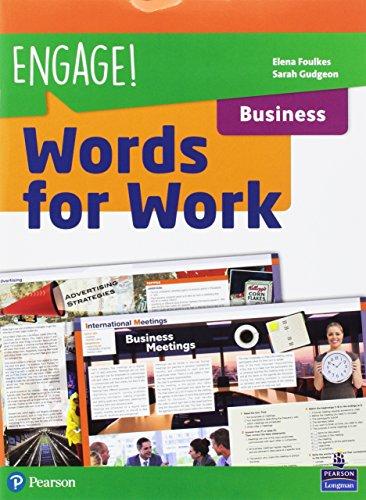 Engage! Compact. Words for work. Business. Per gli Ist. tecnici e professionali. Con espansione online