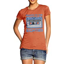 Women's Rewind to the Eighties Cassette T-shirt