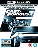 Fast & Furious 7 (4K UHD Blu-ray + Blu-ray+ Digital Download) [2015] UK-Import, Sprache-Deutsch, Englisch...