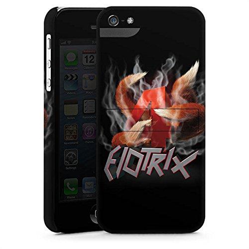 Apple iPhone X Silikon Hülle Case Schutzhülle Elotrix Fanartikel Merchandise ElotrixHD Premium Case StandUp