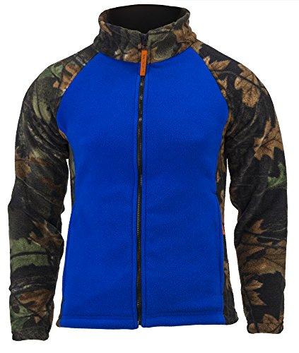 Navy Blue Jacke Hot (TrailCrest Damen Camo Chambliss Semi ausgestattet Jacke, Damen, Blau - Dazzle Blue, Medium)