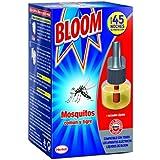 Bloom Insecticida Eléctrica, 1 Recambio Liquido, 45 noches - 18 ml