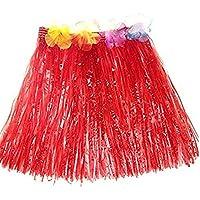 Milopon Hawaii Rock Bastrock Südsee Pazifik Hula Gras Skirt für Kinder  Karneval Kostüm Party, Geburtstag aa7c3b386a