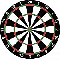 Dart Board Game 15 inches With 6 Darts & Instruction Manual