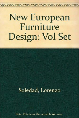 New European Furniture Design: Vol Set