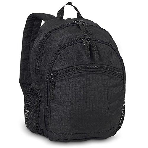 Everest Deluxe Kleiner Rucksack schwarz/schwarz Einheitsgröße