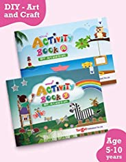 Nurture Activity Books for Kids in English | 5 to 10 Year Old Children | 78 DIY Craft, Art and Other Ideas usi