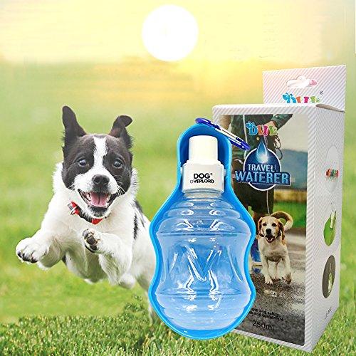 Botella Agua para Perros,Bebedero portatil Ideal para Viajes y Paseos con tu Mascota