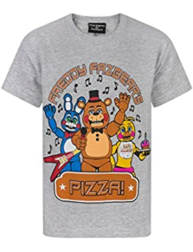 FIVE NIGHTS AT FREDDY'S - Camiseta de manga corta - Camiseta gráfica - Manga corta - para niño