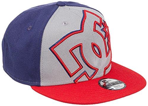 DC Universe - Double Up, Mütze für Kinder, Multicolor(Grey Heather/Summer Blues),eine Größe(Herstellergröße:One - Dc-mütze