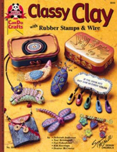 Bastelbuch Classy Clay #3344, englischsprachig