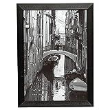 Barrington A4(21x 30cm) schwarz Zertifikat Bilderrahmen Display Rahmen von The Photo Album Company mit Sicherheit Plexi Glas Blende