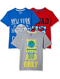 Sunday Sale : Flat 50% And More OFF On Cherokee Boys' Plain Combo T-Shirt (Pack of 3) low price image 10