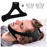 Schnarchhilfen SUMGOTT Anti Snore Strips Gerät Effiziente und komfortable Kinnriemenlösung