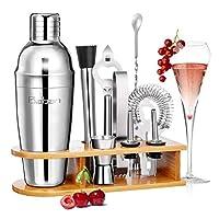 ◄Notre kit de cocktail est recommandé par de nombreux clients satisfaits, simple à utiliser, durable et durable. ►  Pourquoi choisir le shaker Baban ?  ★ -Nous avons tous voulu un jour investir dans un Kit Cocktail pour préparer, à la maison les même...