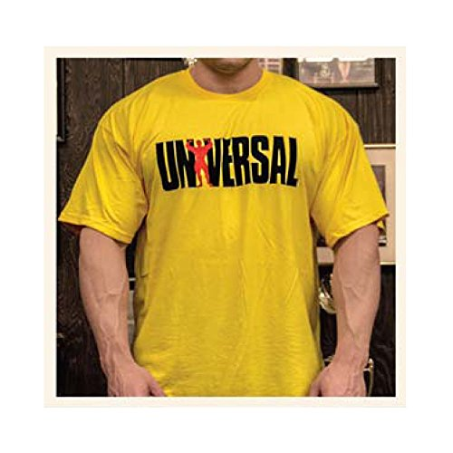 Universal Sportswear Shirt Since '77 Gelb I T-Shirt I Sport I Bodybuilding I Fitness (XL)