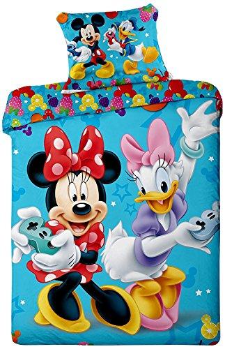 Jerry fabrics JF0100 juego de ropa de cama de Mickey y Minnie...