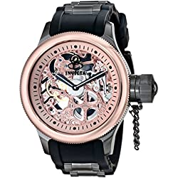 Invicta 17274 51.5mm Stainless Steel Case Black Polyurethane flame fusion Men's Watch