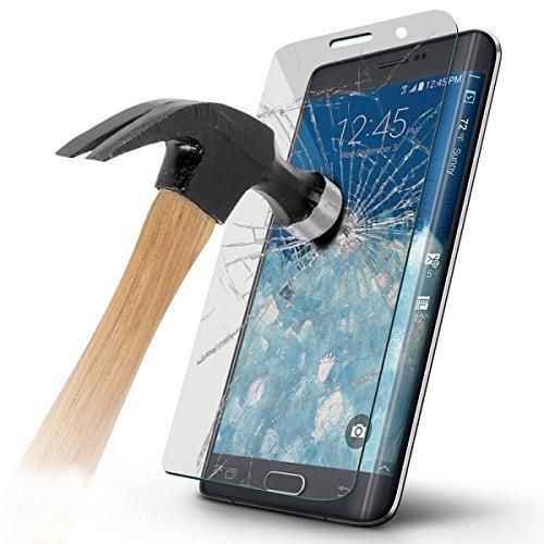 HandySchutzGlas Panzerglas Displayschutz Full Cover Protection abgerundete Hartglas Schutzfolie für Samsung Galaxy Note Edge (SM-N915F)