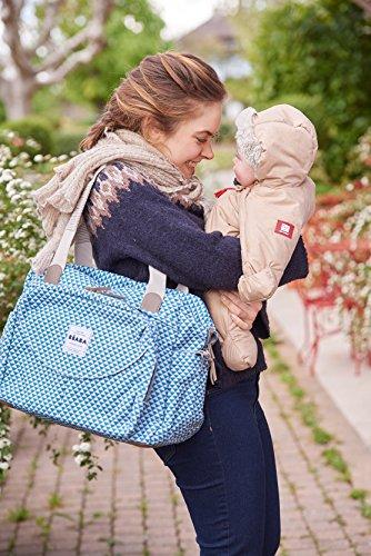 BÉABA Sac à Langer Genève II, Play Print Bleu