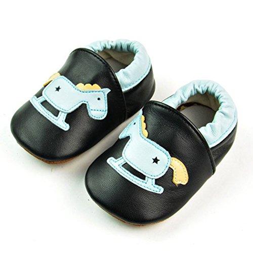Weicher Leder Lauflernschuhe Krabbelschuhe Babyschuhe für Baby Jungen Mädchen mit vielen Modelle Style 10