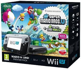 Nintendo Wii U 32GB New Super Mario Bros and New Super Luigi Bros Premium Pack - Black (Nintendo Wii U) (B00FS23T26)   Amazon price tracker / tracking, Amazon price history charts, Amazon price watches, Amazon price drop alerts
