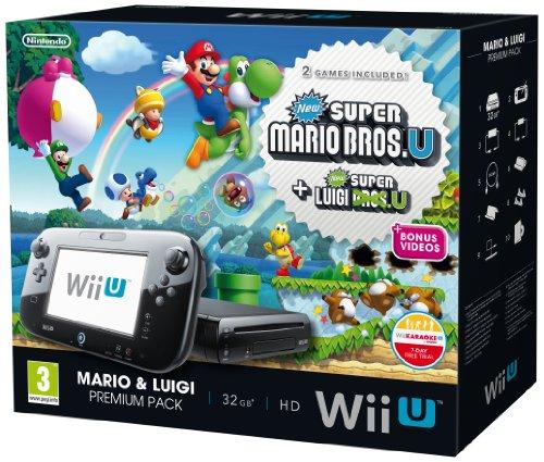 Nintendo Wii U 32Gb New Super Mario Bros New Super Luigi Bros Und Premium Pack - Schwarz (Nintendo Wii U) [britische Import]