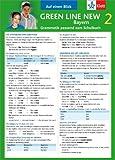 Green Line New Bayern 2 - Auf einen Blick: Grammatik passend zum Schulbuch - Klappkarte (6 Seiten) - Sabine Schlimm