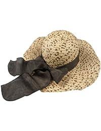 Autek women's cap / 2014 nouveau classique grand chapeau de raphia de importation de mode grosses vagues le long du chapeau de soleil (554)