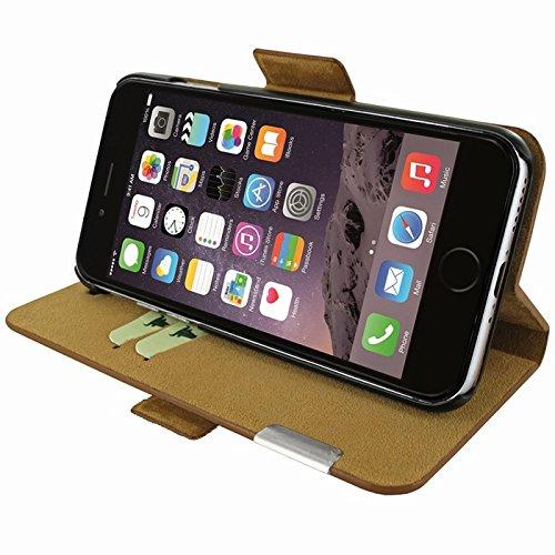 """Piel Frama """"FramaSlim"""" Lederhülle für Apple iPhone 7, verschiedene Farben hautfarben"""