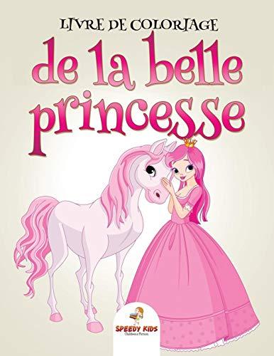 Livre de coloriage de la belle princesse